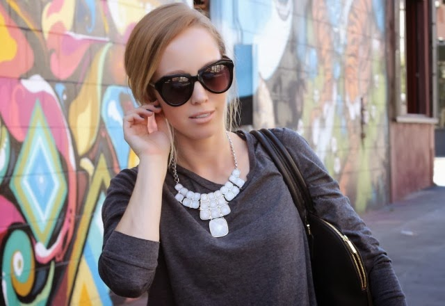 statement necklace for casual looks