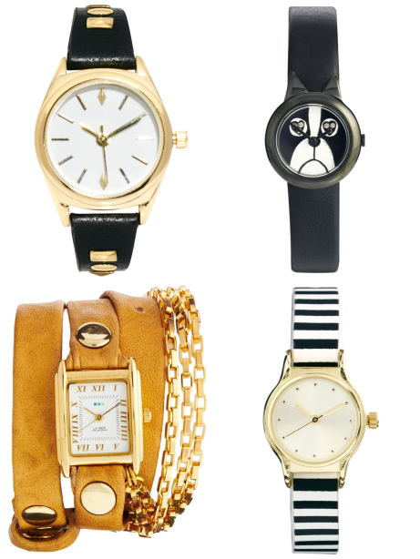 valentines day gift guide - asos watches
