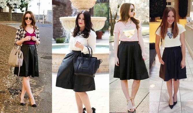 One Midi Skirt 4 Ways