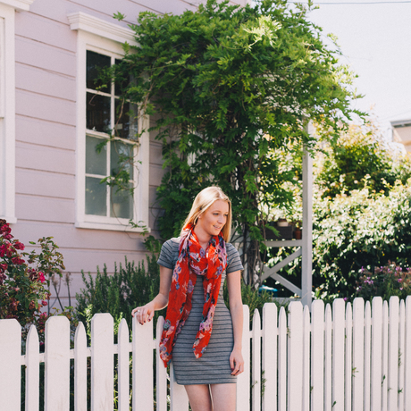 Pattern mixing and Summer Scarves
