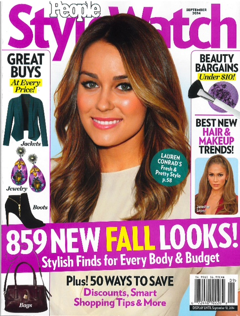 People Style Watch - September - LE TOTE press