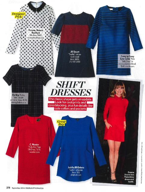 LE TOTE BB Dakota dress in People Magazine