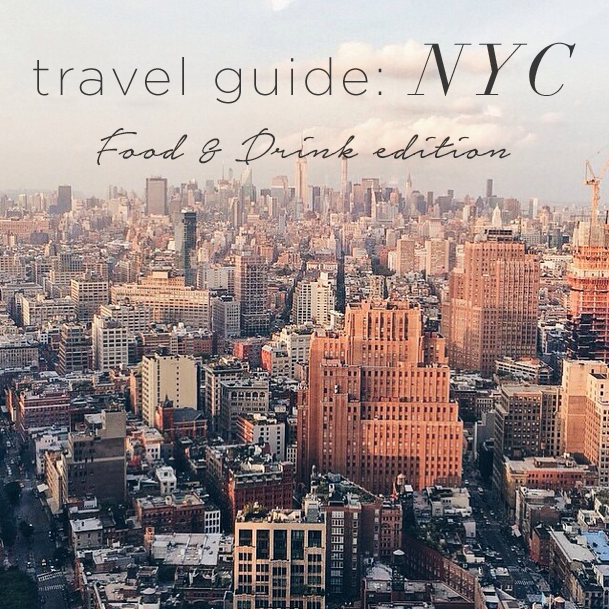 Travel Guide NYC from LE TOTE