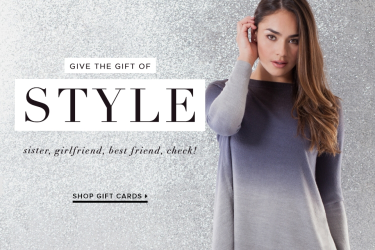 Easy Last minute gifts for her - a clothing fashion subscription from LE TOTE