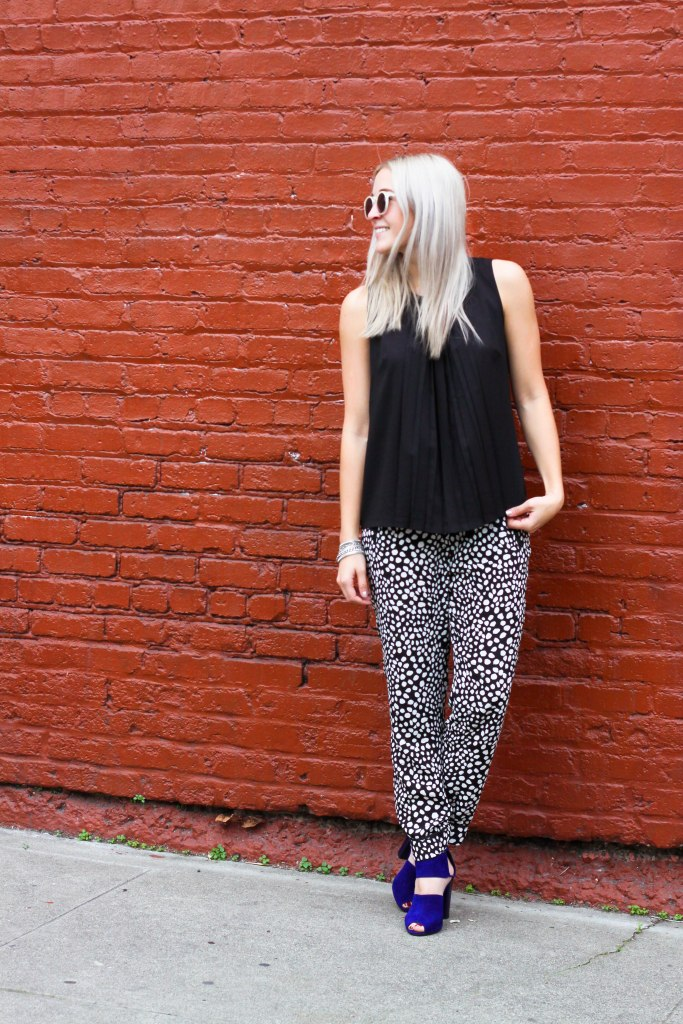 How To wear patterned pants | Stone Fox Style x LE TOTE