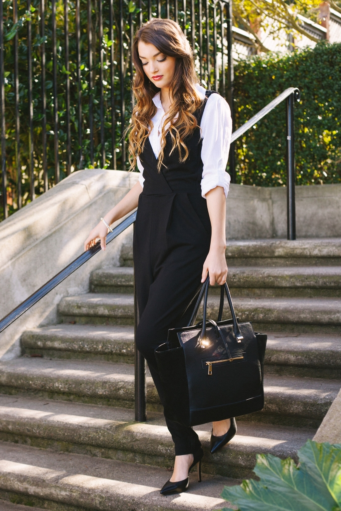 How To Style a Sexy Jumpsuit for Work