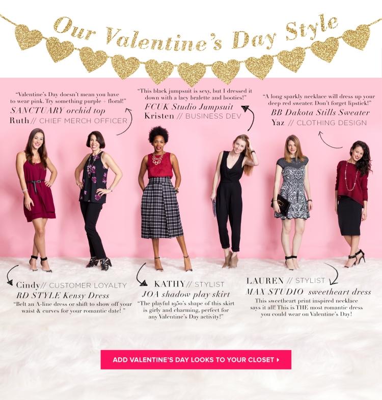 LE TOTE Unique Valentine's Day Outfit Ideas