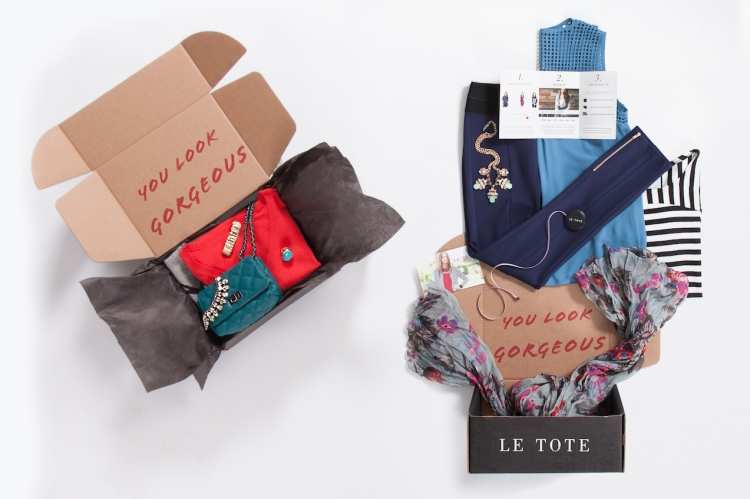 Le Tote Subscription Fashion Box