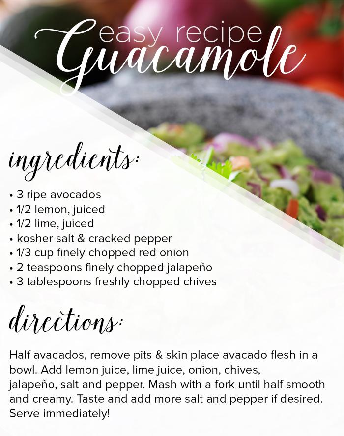 Best Guacamole Recipe from LE TOTE