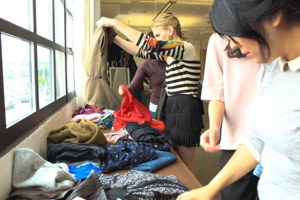 So Many clothes, so little time...