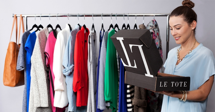 LE TOTE Fashion Clothing and Accessory Rental Subscription Service
