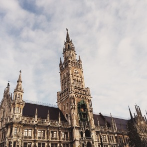 The architecture in Munich paired with the charming Christmas Markets made drinking warm Gluehwein that much better.