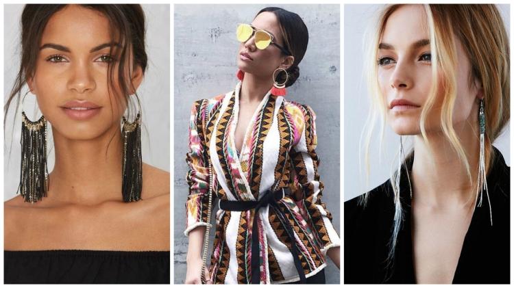 earrings collage