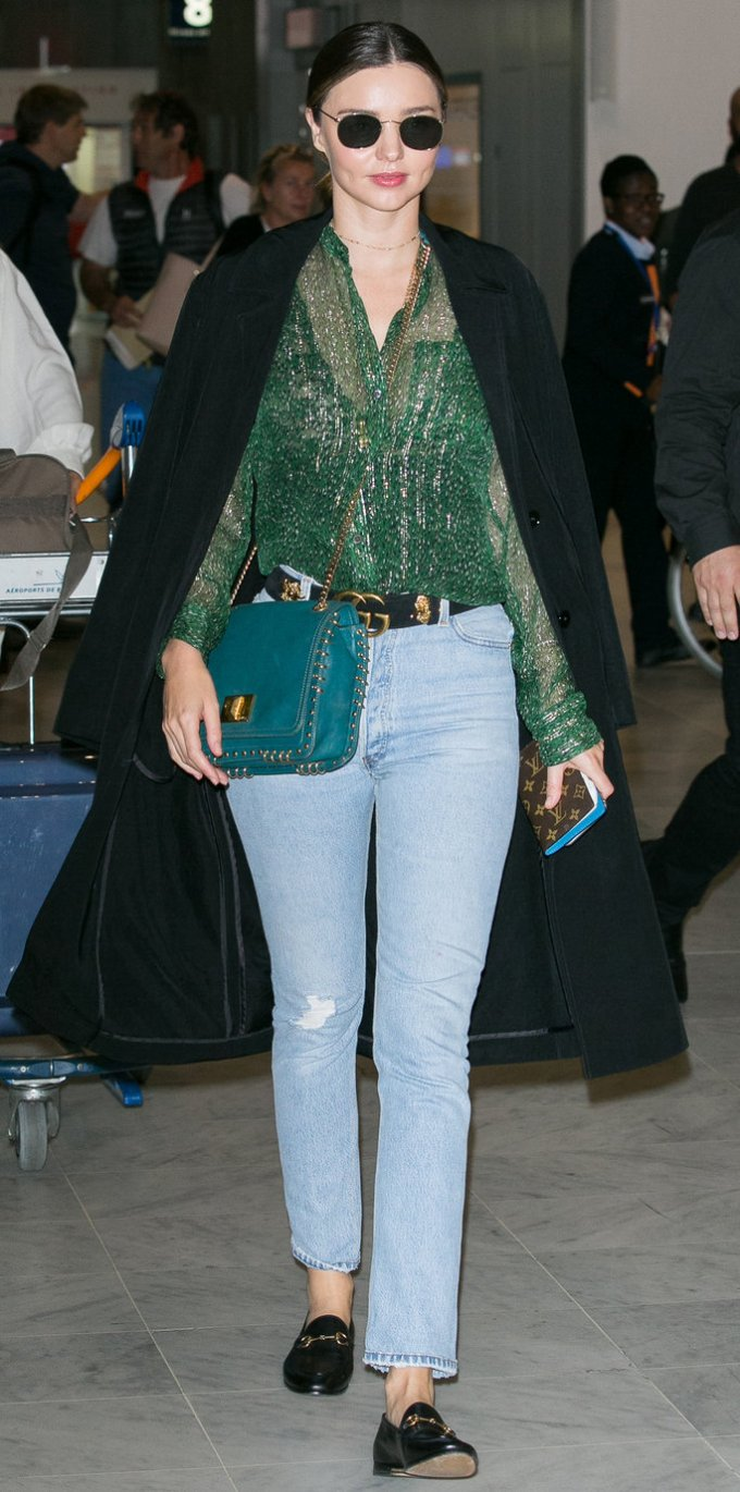 Celebrity Sighting At Charles-de Gaulle airport In Paris - October 4, 2016